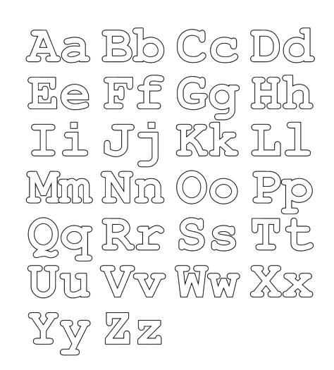 Alphabet Coloring Pages At Getdrawings Free Download