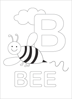 248x340 Alphabet Coloring Sheets Download