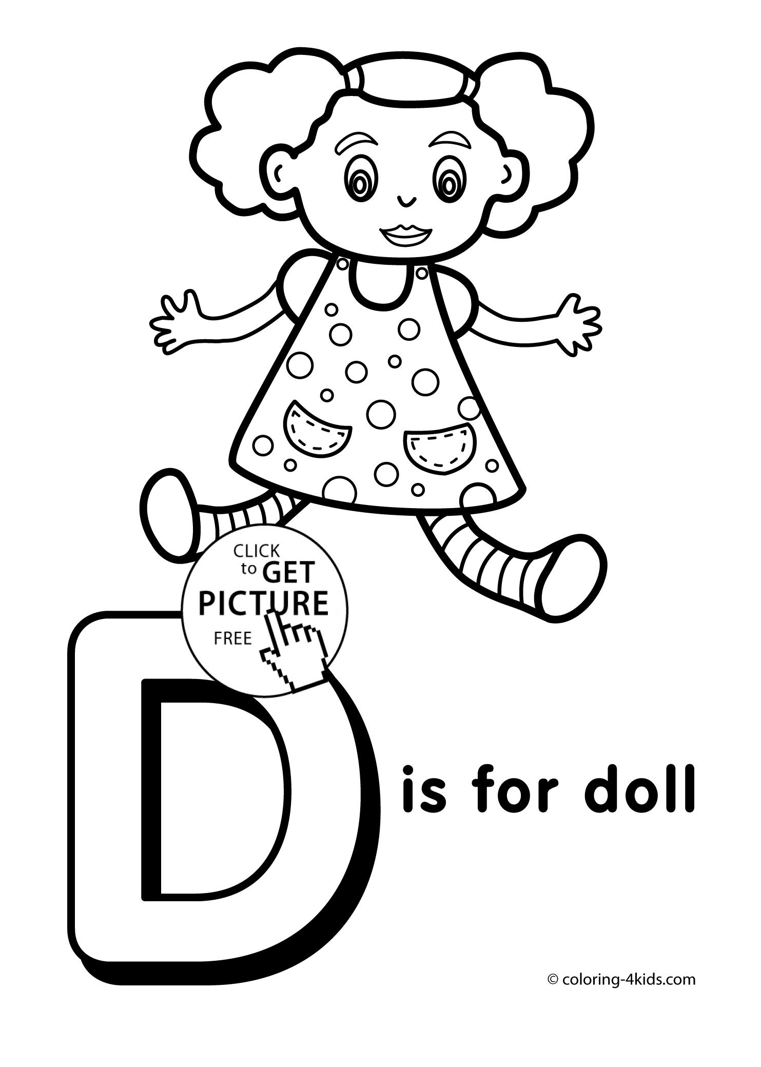 1483x2079 Last Chance Preschool Alphabet Coloring Pages To Print Letter D