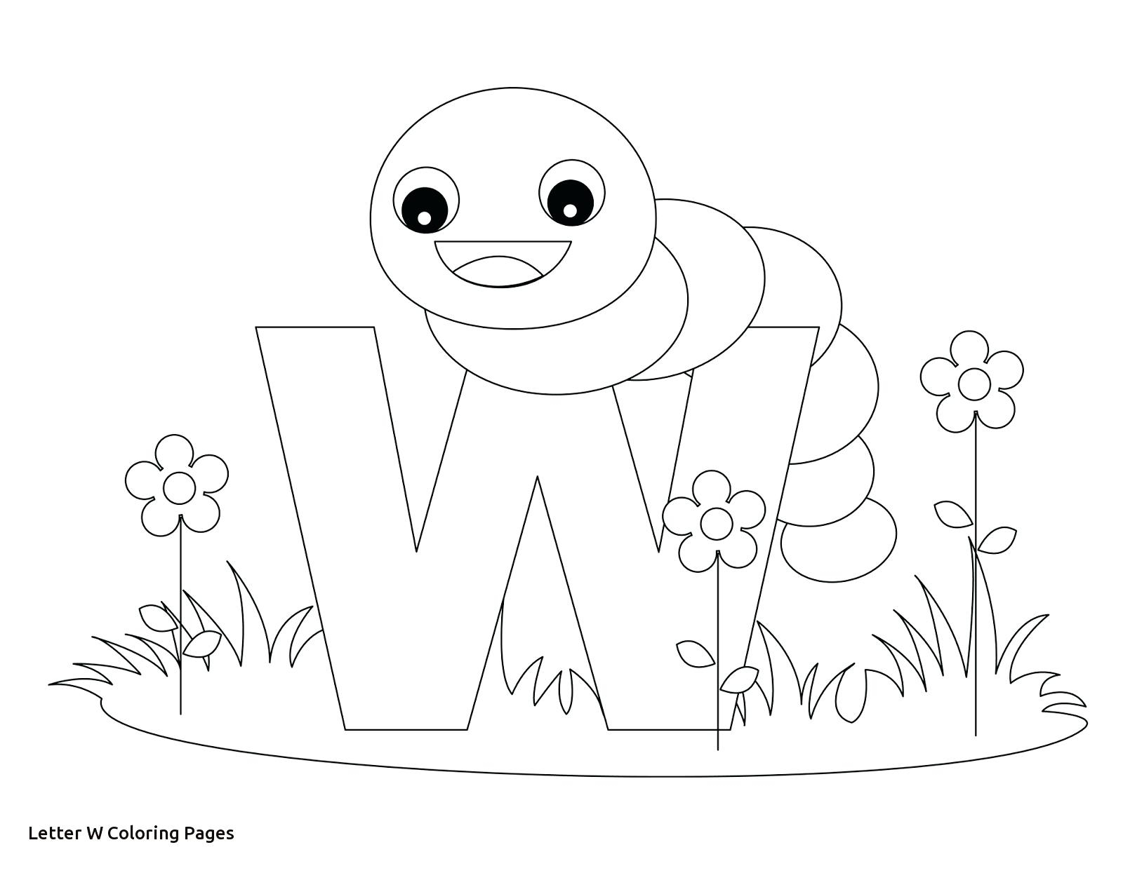 1600x1245 Printable Coloring Letter W Coloring Pages With Lowercase Alphabet