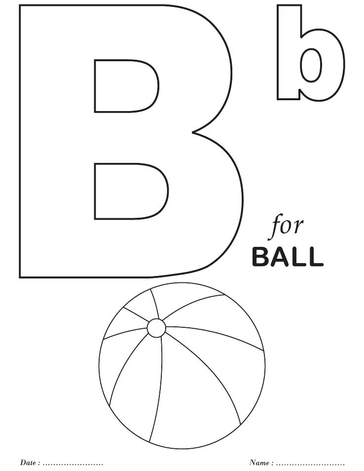 738x954 Printable Alphabet Coloring Pages