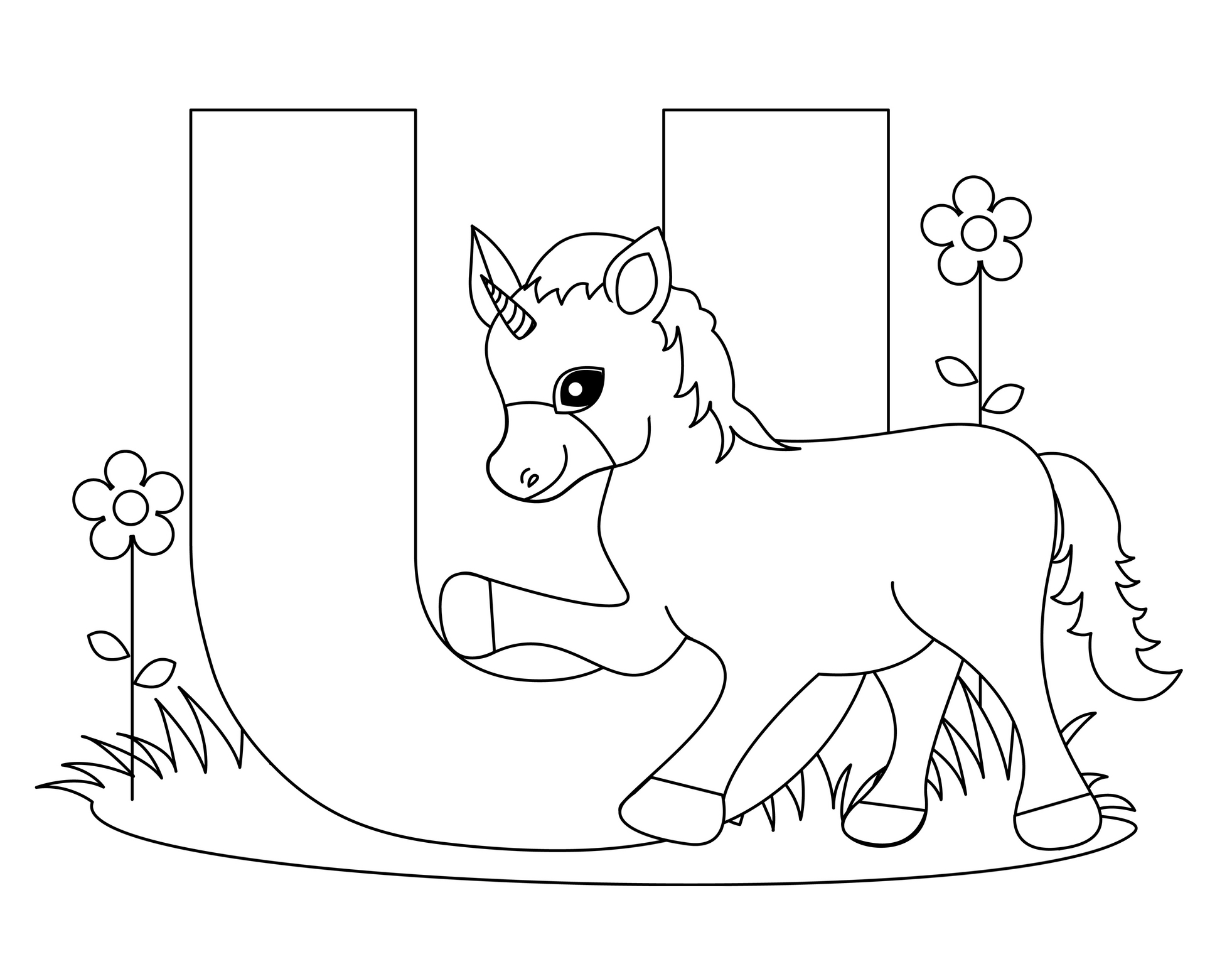 1963x1527 Coloring Pages The Alphabet Letters Alphabet Coloring Pages B