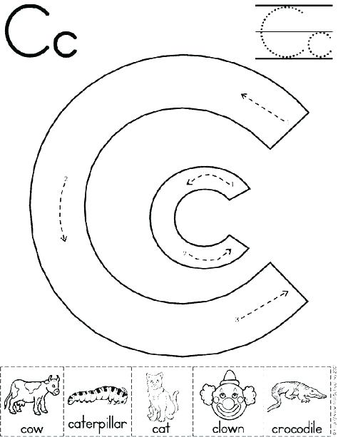 474x613 The Letter C Coloring Pages Letter C Coloring Pages Bubble