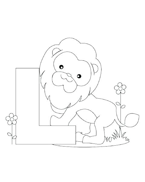 480x600 Alphabet Coloring Pages Preschool With My A To Z Coloring Book