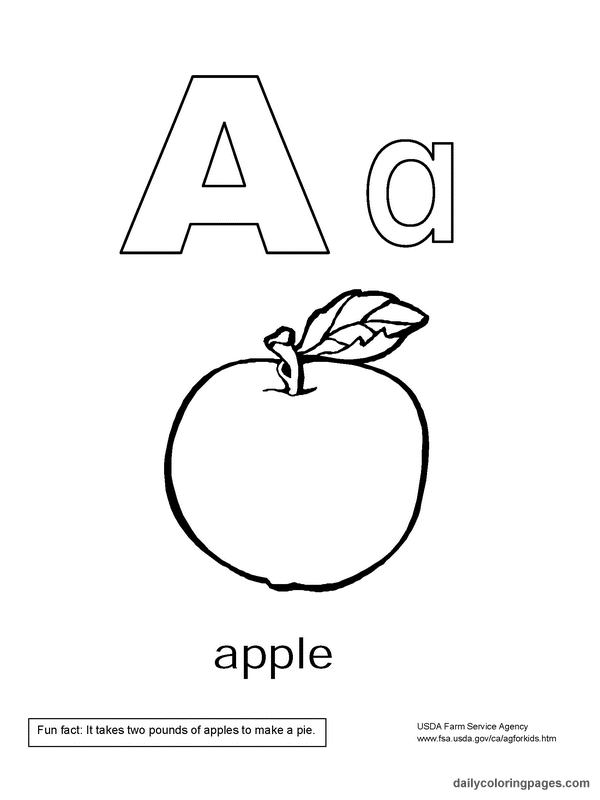 600x800 Coloring Pages Alphabet Coloring Pages Koloringpages, Abc