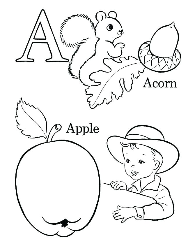 670x820 Printable Alphabet Coloring Book Printable Coloring Pages