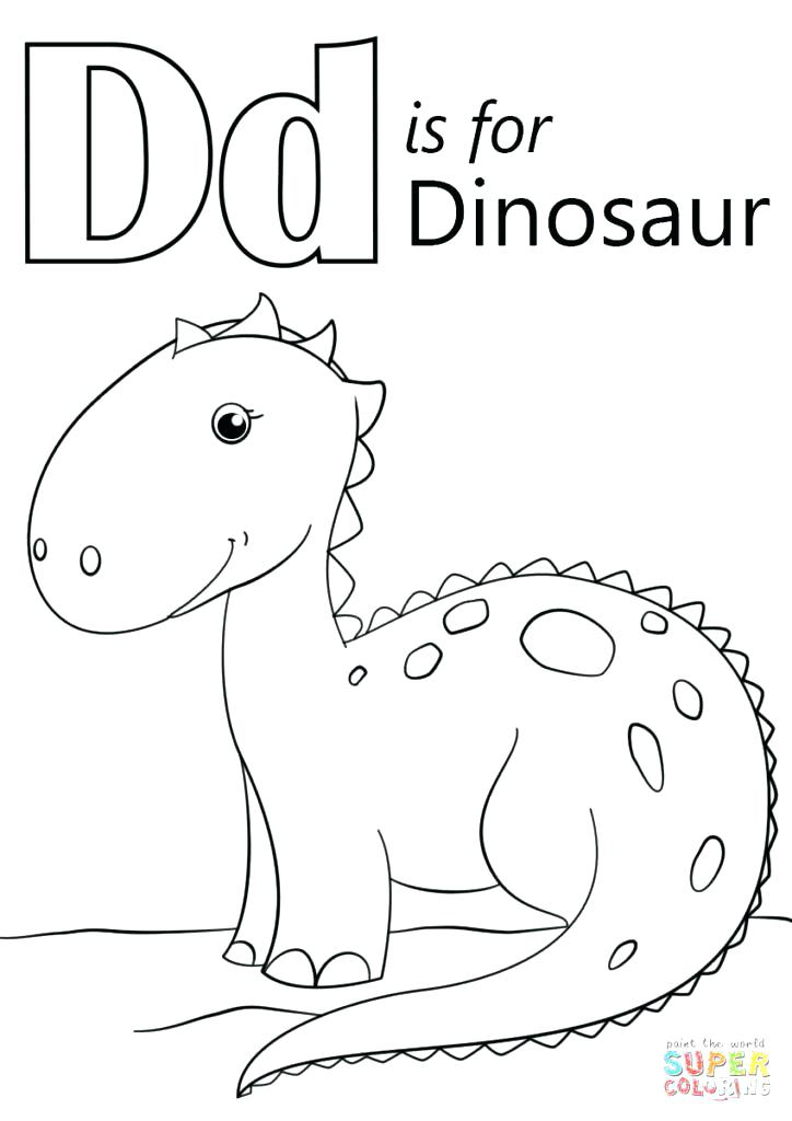 Alphabet Coloring Pages D at GetDrawings | Free download