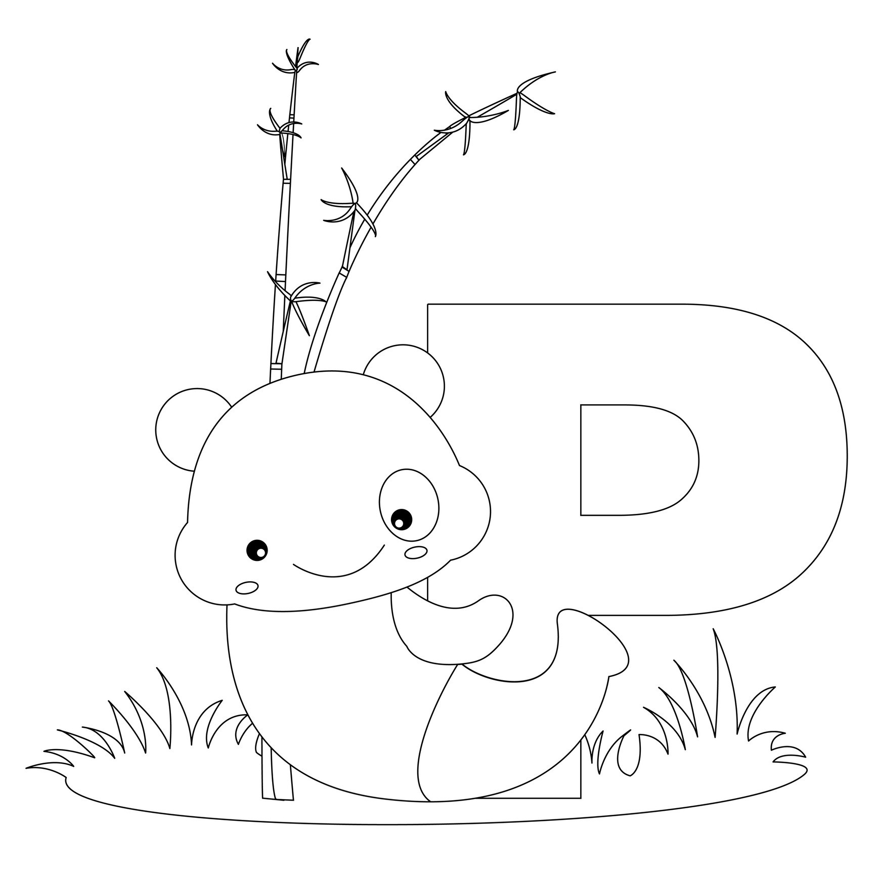 1732x1732 Free Printable Alphabet Coloring Pages For Kids