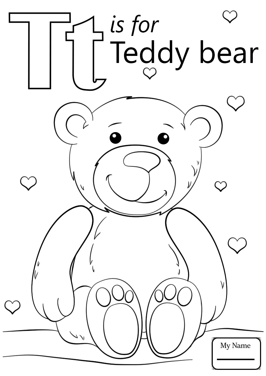 866x1224 Lowercase T Alphabet Coloring Page Pages Free Printable Letter