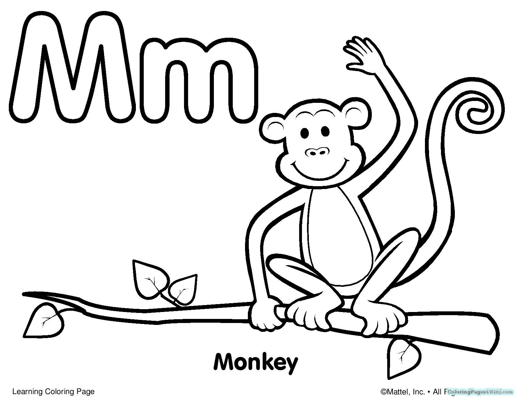1650x1275 Coloring Pages For Toddlers Alphabet Coloring Pages For Kids