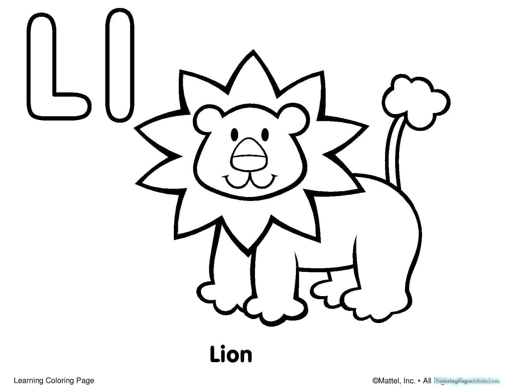 1650x1275 Free Alphabet Coloring Pages For Toddlers Coloring Pages For Kids