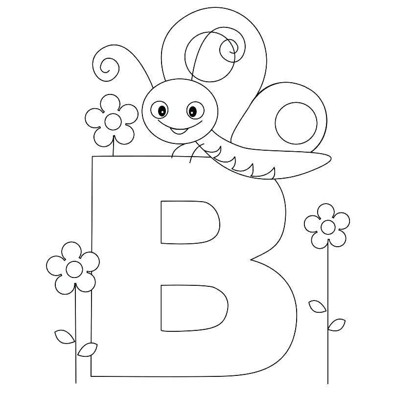 805x805 Alphabet Book Coloring Sheets Printable Alphabet Coloring Sheets