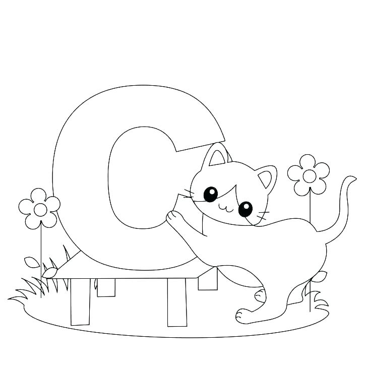 The best free Alphabet coloring page images. Download from ...