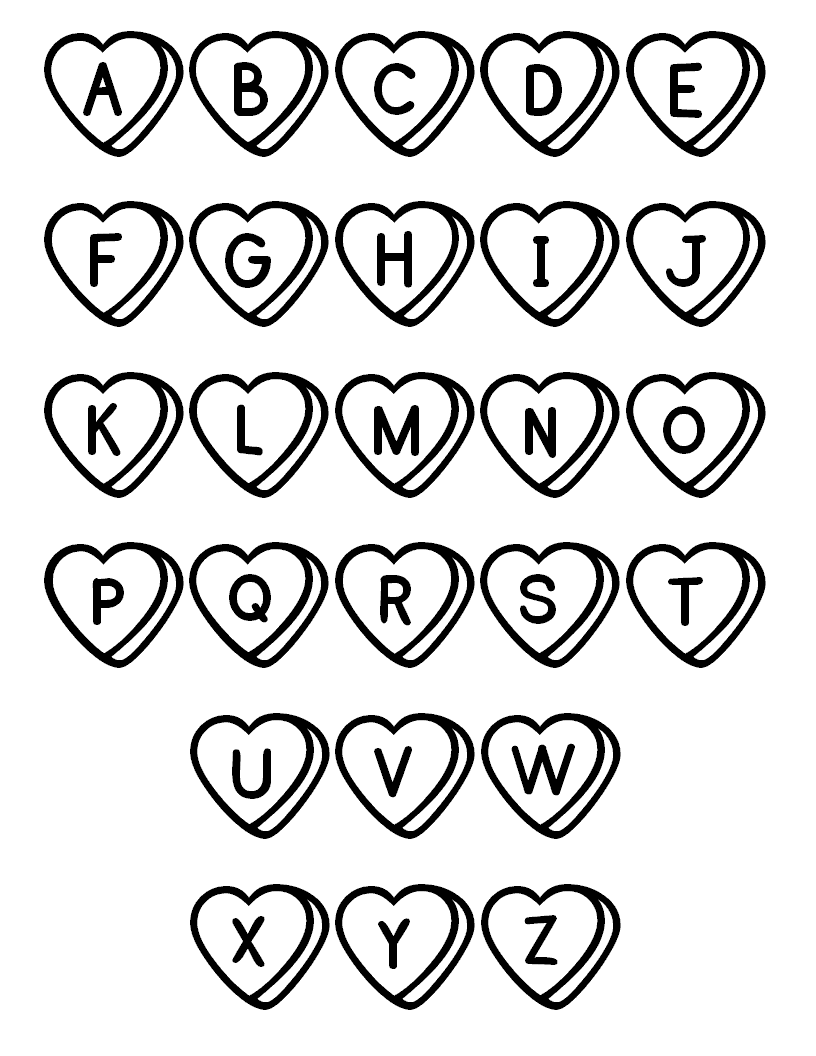 816x1056 Alphabet Coloring Pages Coloringsuite Com Inside