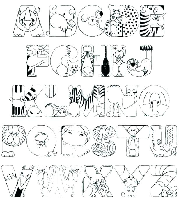 615x705 Coloring Pages For Preschoolers Pdf Alphabet Coloring Pages