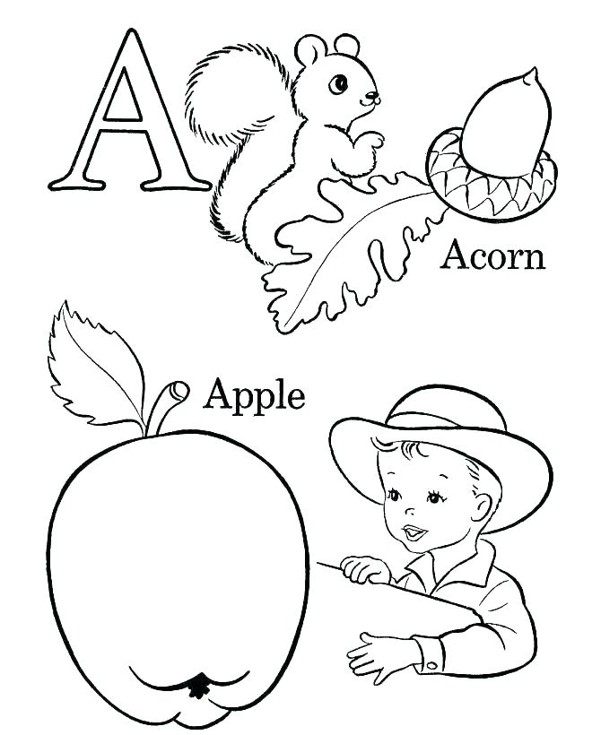 670x820 Free Coloring Pages For Kindergarten Free Alphabet Coloring Pages