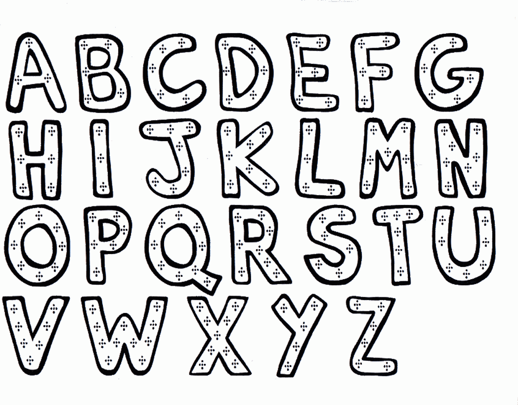 1048x818 Preschool Alphabet Coloring Pages