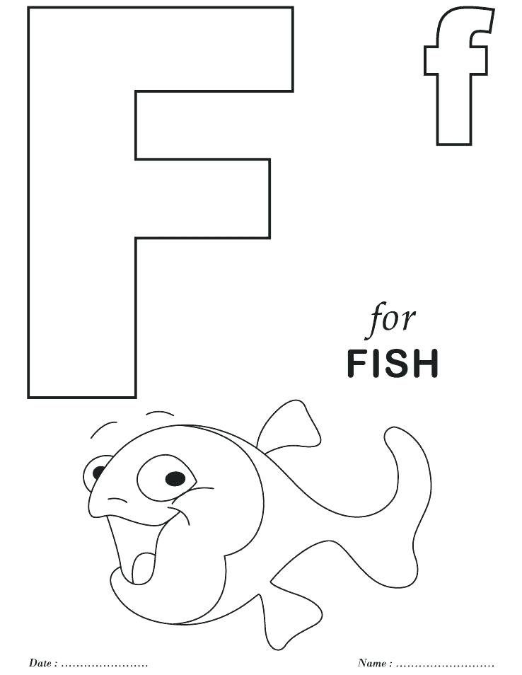 738x954 Printable Alphabet Coloring Pages Also Printable Letter F Coloring