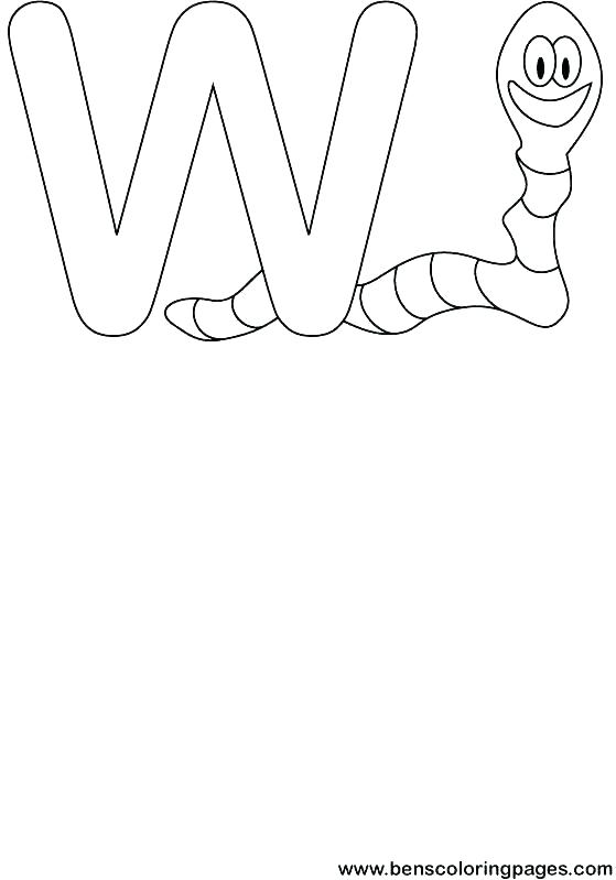 559x799 Printable Alphabet Coloring Pages Letter A Coloring Pages