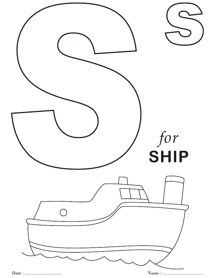 738x954 Alphabet Coloring Pages Az Alphabet Coloring Pages A Z Alphabet