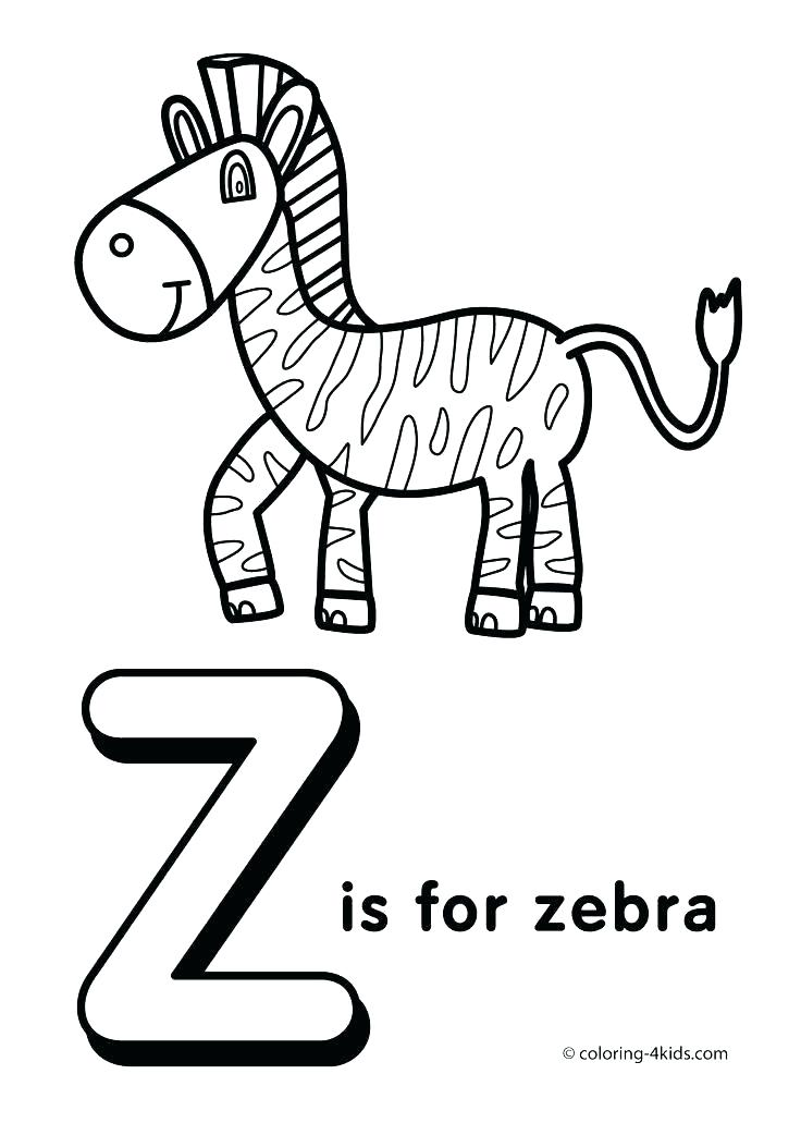 736x1031 Coloring Pages With Letters Coloring Pages Of Letters Preschool