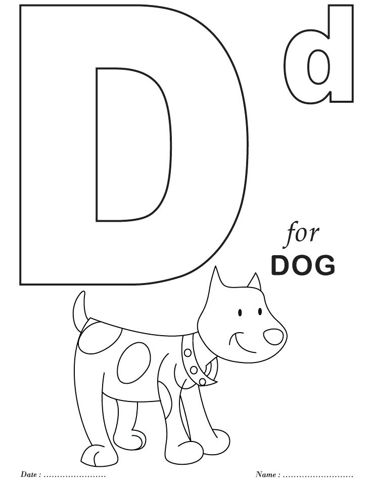 738x954 Abc Alphabet Colouring Pages Kids Coloring Alphabet D Coloring