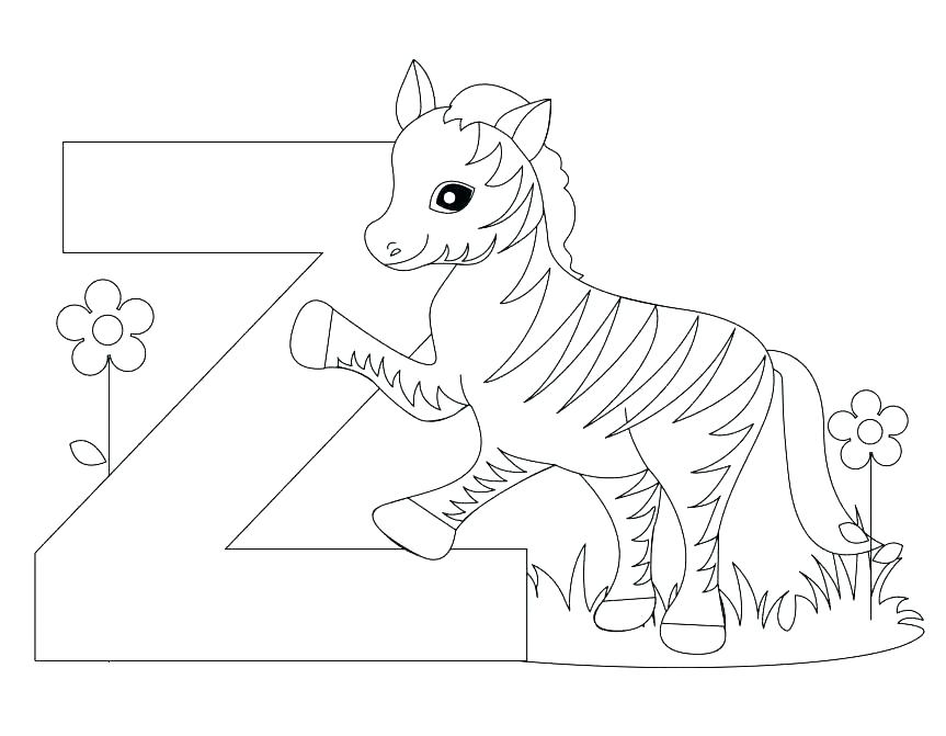 863x671 Free Letters Coloring Pages Preschool Alphabet Letter N For Nib J