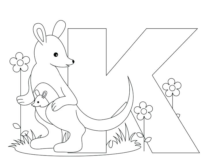736x572 Alphabet Coloring Pages For Preschoolers Free