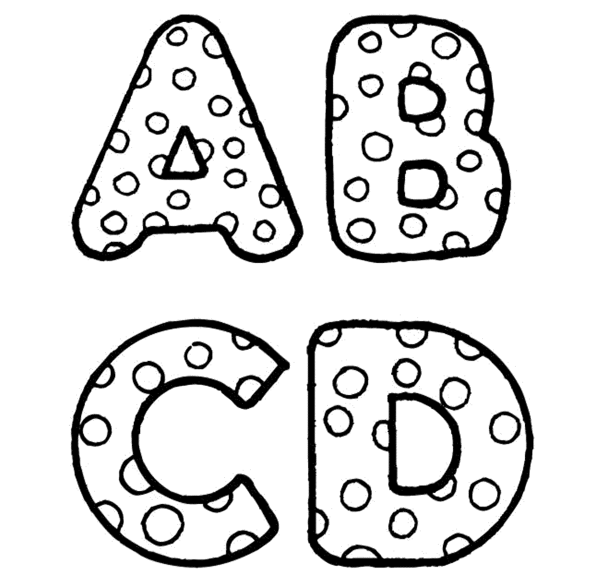 2000x1920 Abc Coloring Pages