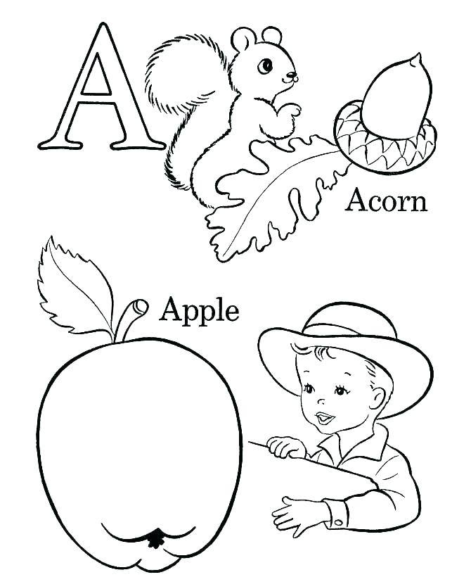 670x820 Letter Coloring Pages Free Alphabet Coloring Pages Preschool