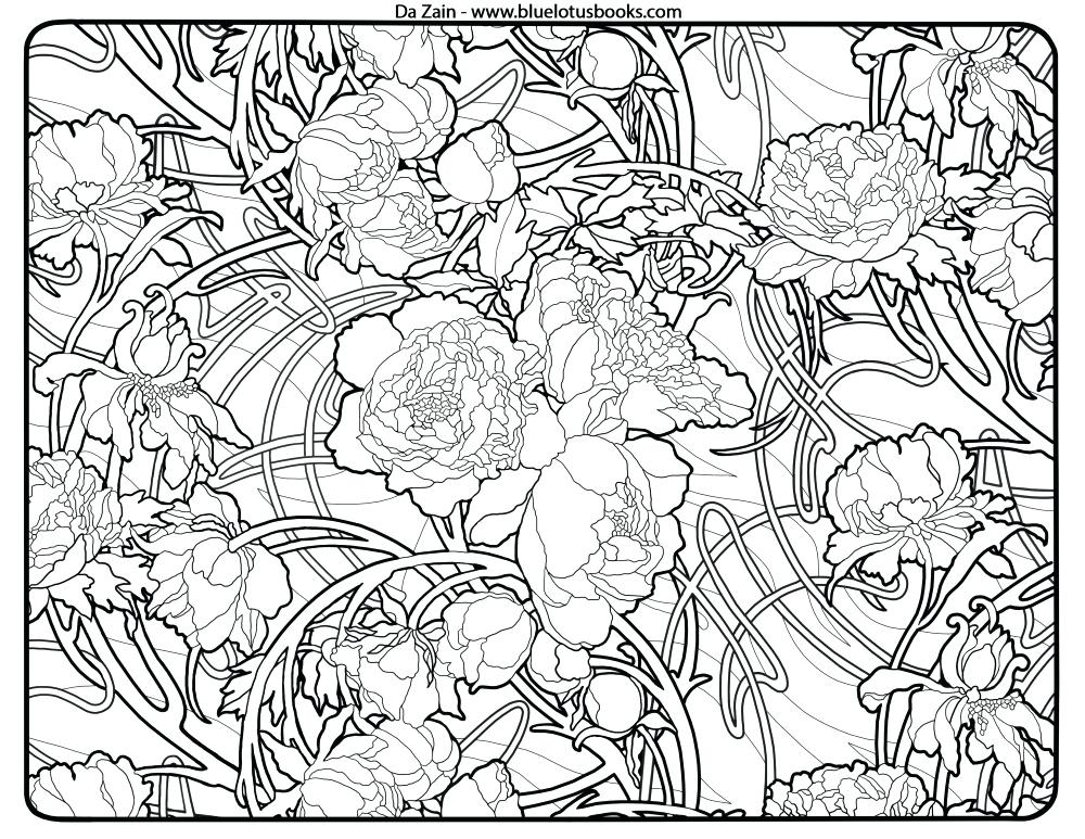 1000x773 Alphonse Mucha Coloring Pages Captivating Alphonse Mucha Coloring
