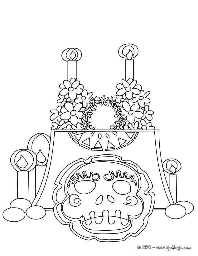 altar coloring page 18