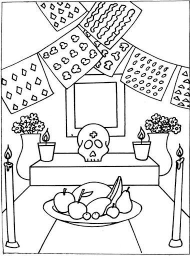 altar coloring page 20