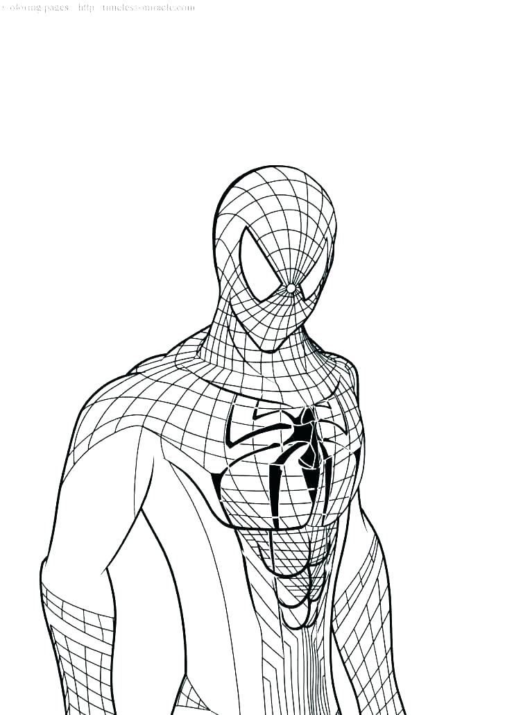728x1030 Exciting Amazing Spider Man Coloring Pages Coloring Pages Amazing