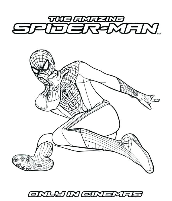 600x701 Spider Man Coloring Pages Amazing Coloring Pages Amazing Spider