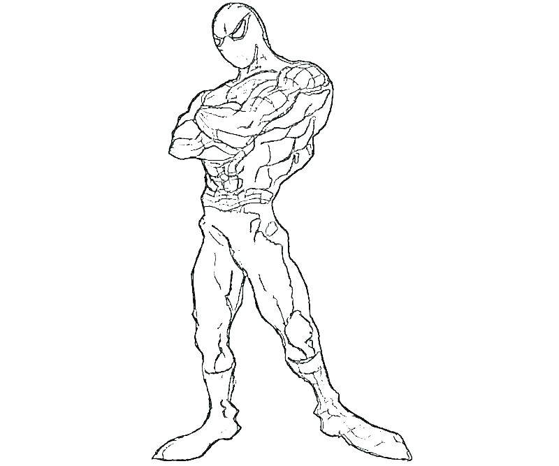 800x667 Spider Man Coloring Pages Amazing Spider Man Coloring Pages