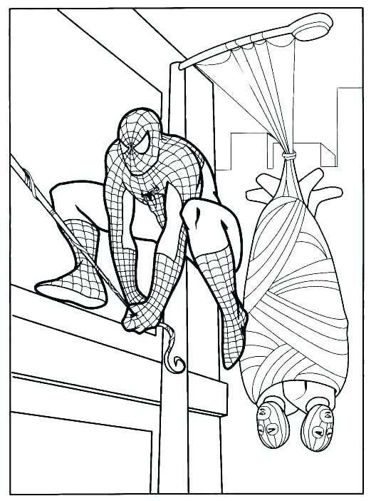 528x702 Spider Man Coloring Pages Free Coloring Pages Spider Man