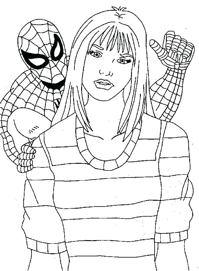 650x887 Amazing Spiderman Coloring Pages Amazing Spider Man Coloring