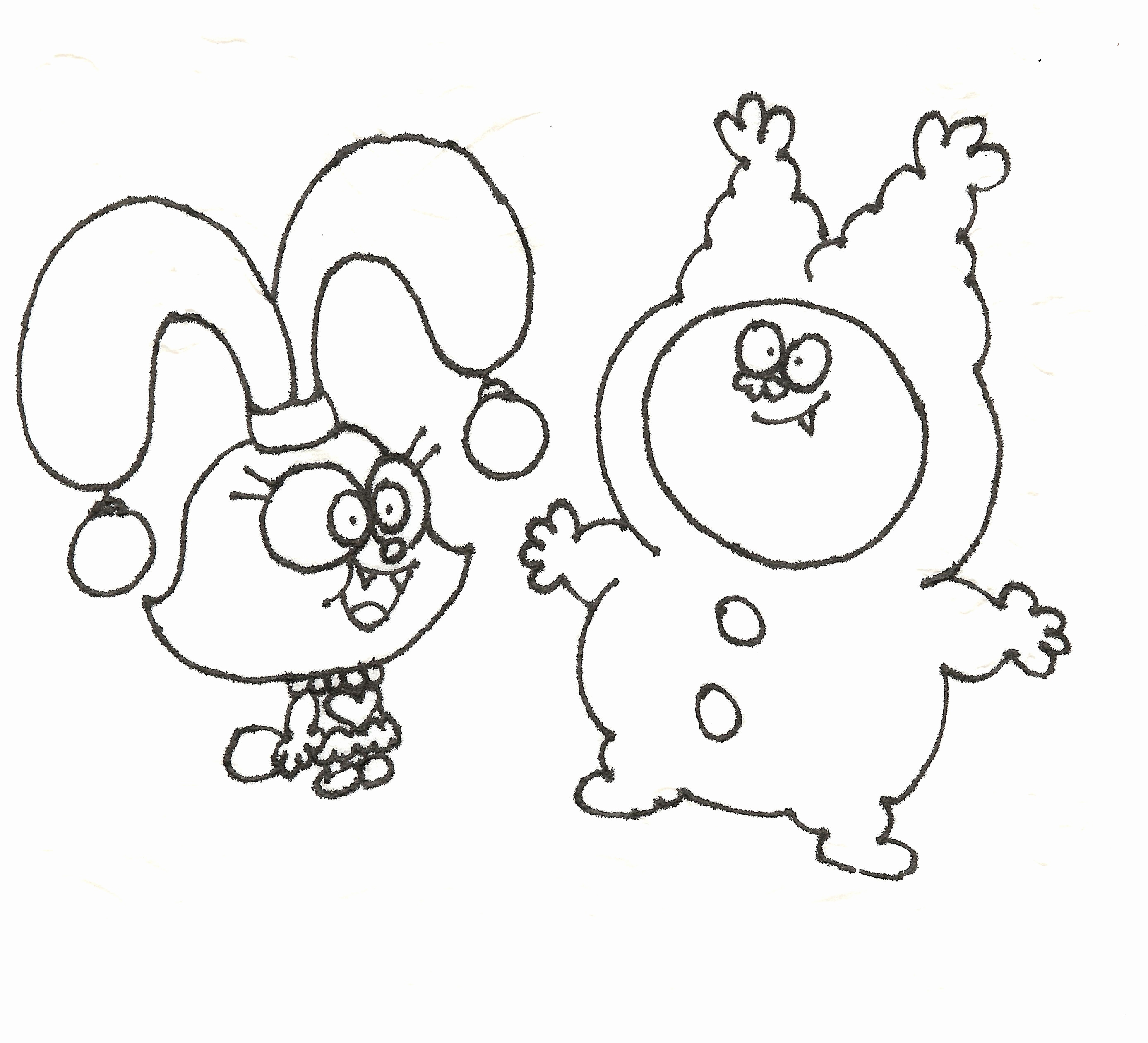 2774x2521 Chowder Coloring Pages To Print Pics Amazing World Gumball