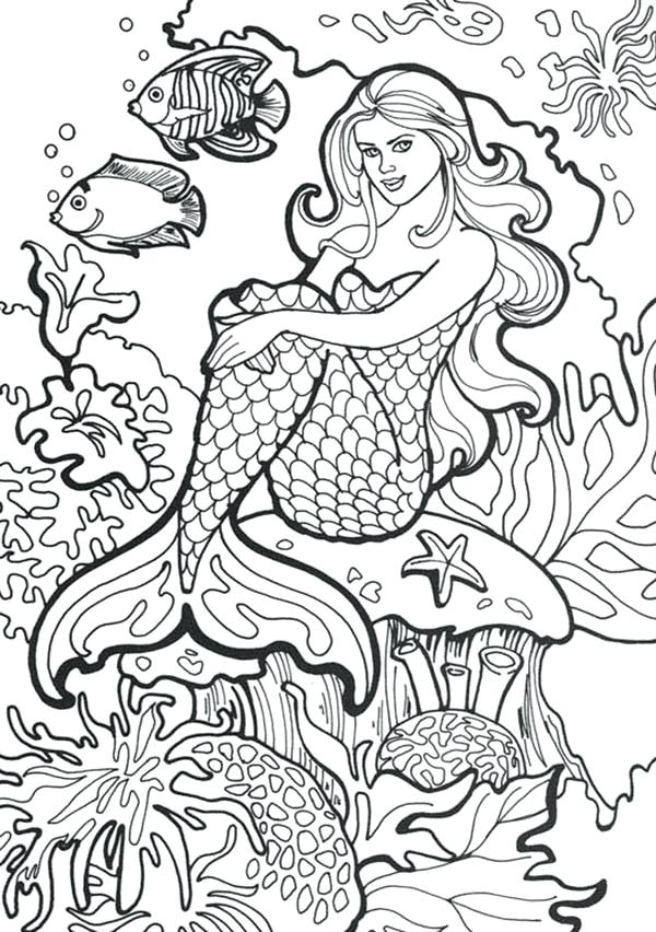600x852 Amazing World Of Gumball Coloring Pages Amazing Drawing Of Mermaid