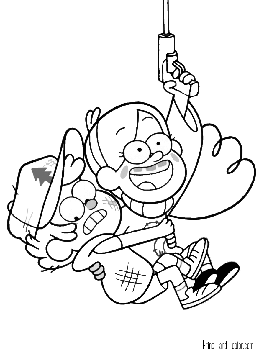 Amazing World Of Gumball Printable Coloring Pages