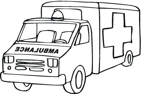 Ambulance Coloring Pages At Getdrawings Com Free For Personal Use