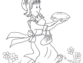 290x220 Amelia Bedelia Coloring Pages Free Coloring Page