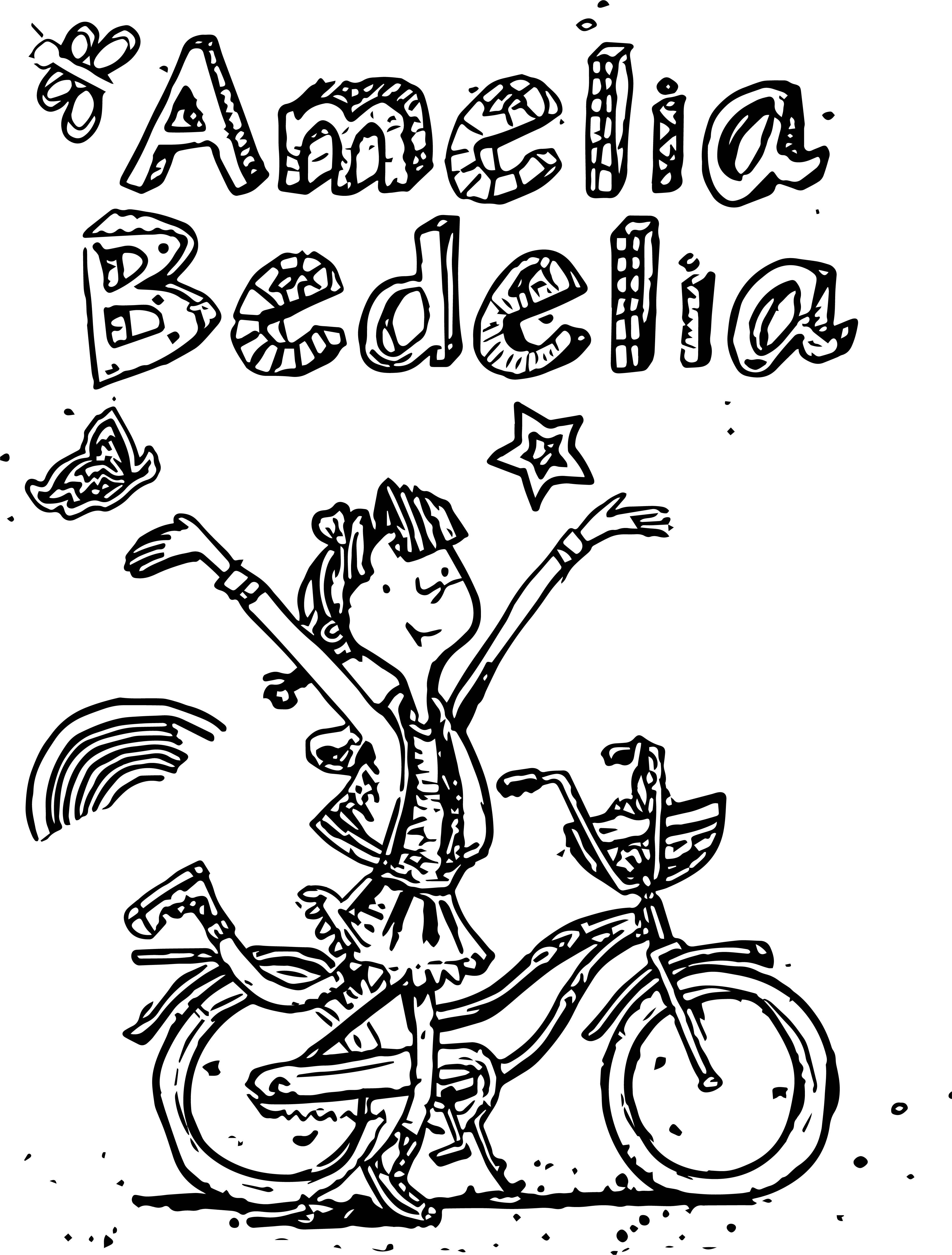 3870x5101 Amelia Bedelia Coloring Pages Free Coloring Pages