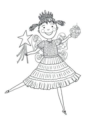 384x480 Amelia Bedelia Coloring Pages With Pink Cupcakes Amelia Bedelia