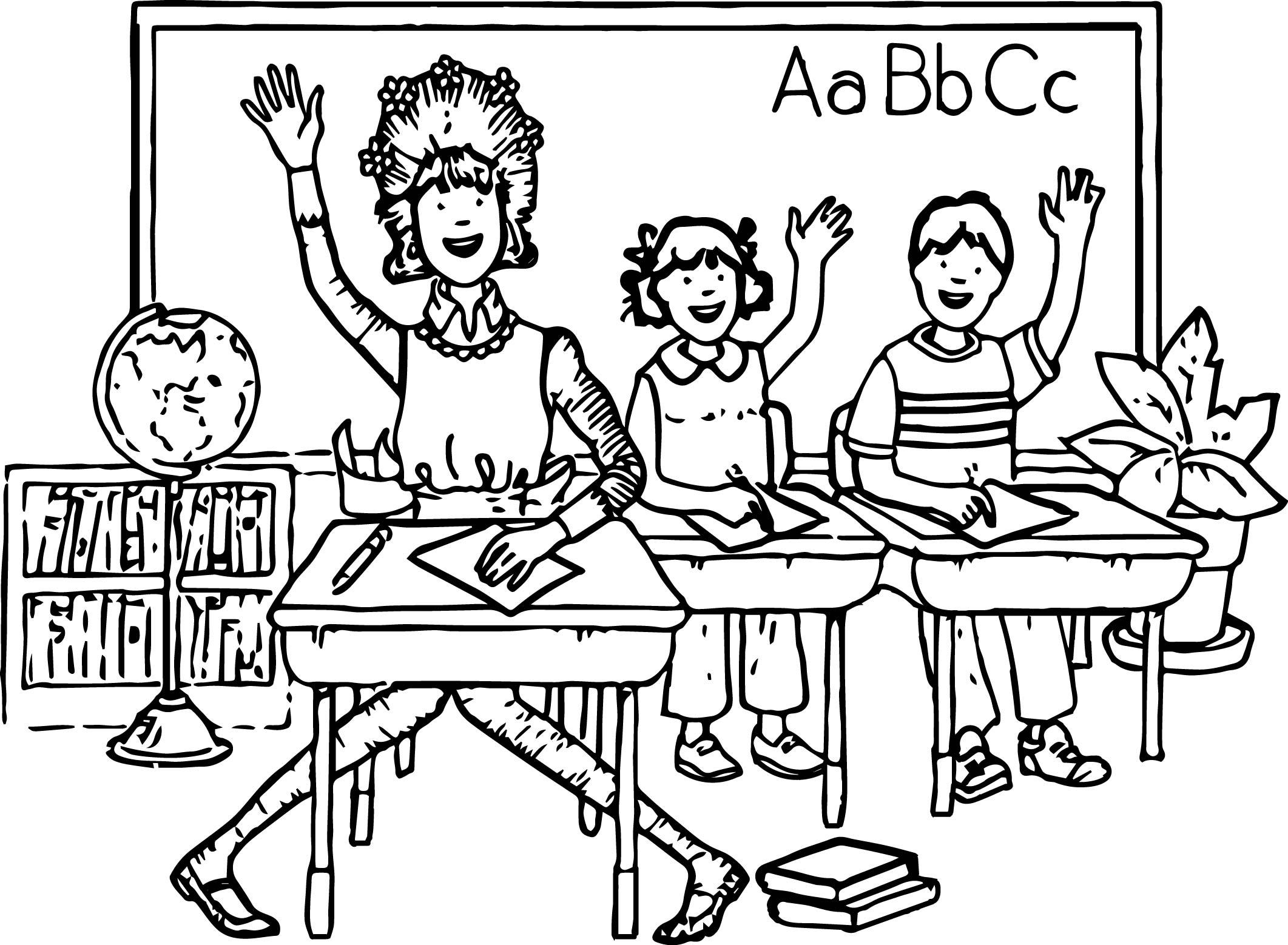 2123x1558 Amelia Bedelia School Coloring Page Wecoloringpage