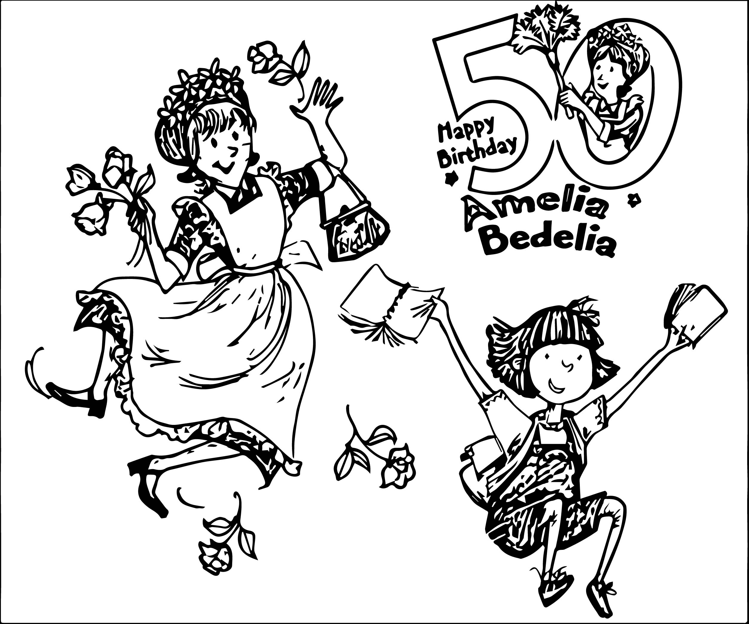 2506x2087 Best Of Happy Birthday Amelia Coloring Pages Free Colouring Pages