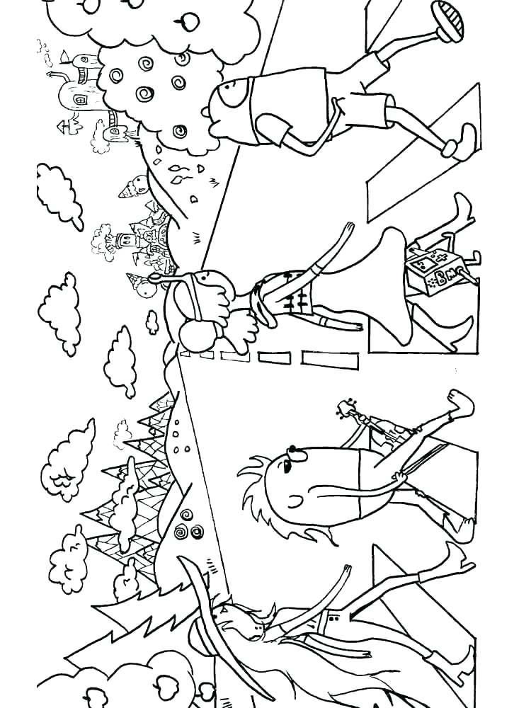 750x1000 Amelia Bedelia Coloring Pages
