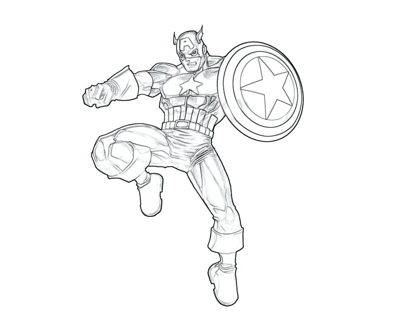 The Best Free Captain America Coloring Page Images Download From 50