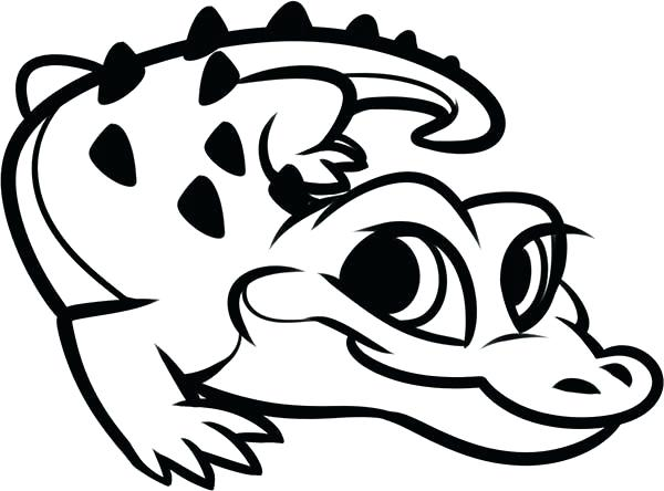 600x444 Coloring Page Alligator Alligator Coloring Pages Coloring Page